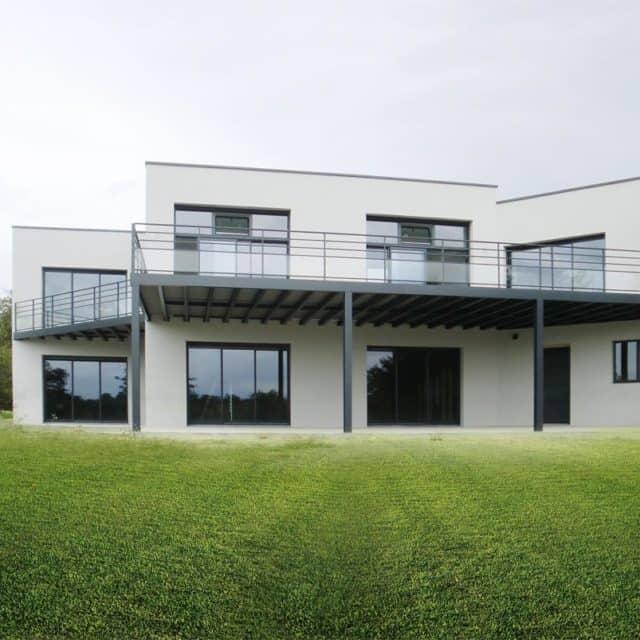 Terrasses métalliques